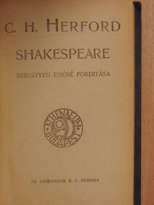 C. H. Herford - Shakespeare/Arany János/Arisztokratizmus [antikvár]