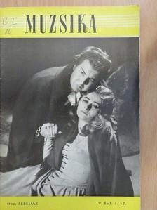 Abody Béla - Muzsika 1962. február [antikvár]