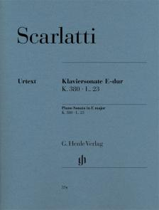 SCARLATTI, D. - KLAVIERSONATE E-DUR K.380 L.23 URTEXT (B.JOHNSSON, D.KRAUS)