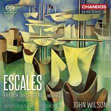 ESCALES SACD FRENCH ORCHESTRAL WORKS  WILSON
