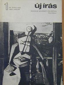 Csanádi Imre - Új Írás 1980. január-december [antikvár]