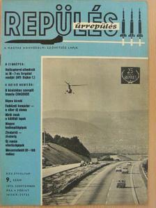 Bács György - Repülés-űrrepülés 1972. szeptember [antikvár]