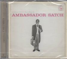 LOUIS ARMSTRONG - AMBASSADOR SATCH CD - EUROPEAN CONCERT RECORDINGS BY -