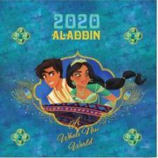 20T0098-015 - ALADDIN LEMEZNAPTÁR - 2020