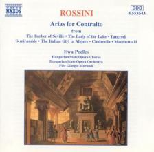 ROSSINI - ARIAS FOR CONTRALTO CD EWA PODLES