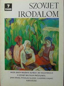 Andrej Lebegyev - Szovjet Irodalom 1980/7. [antikvár]