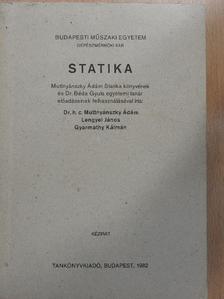 Dr. Muttnyánszky Ádám - Statika [antikvár]