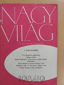 Alice Walker - Nagyvilág 1984. szeptember [antikvár]