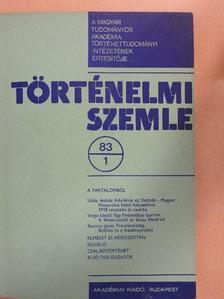 Szűcs Jenő - Történelmi Szemle 1983/1. [antikvár]