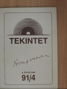 Bánlaky Pál - Tekintet 1991/4. [antikvár]