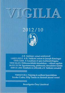 Lukács László - Vigilia 2012/10 [antikvár]