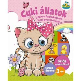 Cuki állatok- Játékos foglalkoztató kicsi gyerekeknek
