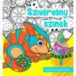 Szalay Könyvkiadó - SZIVÁRVÁNY SZÍNEK - SZÍNEZŐKÖNYV KÖNYV GYEREKEKNEK , FELNŐTTEKNEK