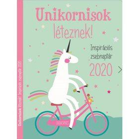 Szalay Könyvkiadó - Unikornisok léteznek! - Inspirációs zsebnaptár 2020