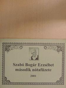 Bánfalvi József - Szabó Bogár Erzsébet második nótafüzete [antikvár]