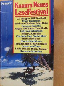 Doris Jannausch - Knaurs Neues LeseFestival [antikvár]