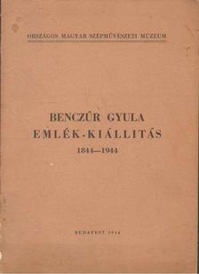 Wlassics Gyula - Benczúr Gyula emlék-kiállítás 1844-1944 [antikvár]