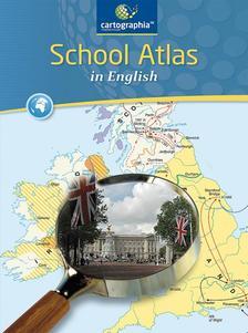 Cartographia Tankönyvkiadó Kft. - CR-0092 School Atlas in English - Atlasz az angol kéttannyelvű iskolák számára