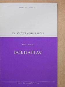 Márai Sándor - Bolhapiac [antikvár]