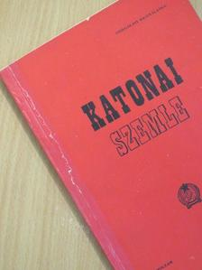A. Litvincsuk - Katonai Szemle 1955. szeptember [antikvár]