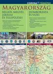 térkép - Magyarország régiói, megyéi, járásai és települései / Magyarország domborzata és vizei