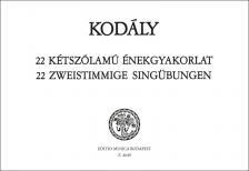 KOD - 22 KÉTSZÓLAMÚ ÉNEKGYAKORLAT