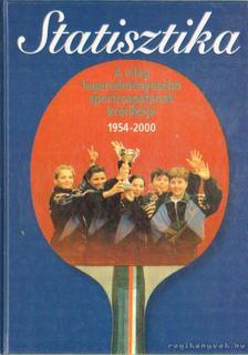 Komlósi Gábor - Statisztika - A világ legeredményesebb sportcsapatának krónikája 1954-2000 [antikvár]