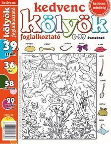 CSOSCH KIADÓ - Kedvenc Kölyök Foglalkoztató 39.