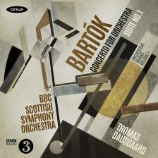 BARTÓK - SUITE NR.1 CD DAUSGAARD