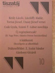 Csák Gyula - Tiszatáj 1997. október [antikvár]
