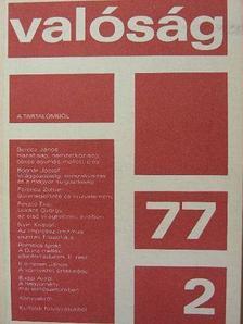 Berecz János - Valóság 1977. február [antikvár]
