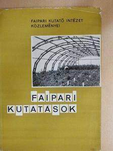 Arató István - Faipari kutatások 1970 [antikvár]