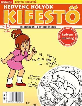 CSOSCH KIADÓ - Kedvenc Kölyök Kifestő 15.