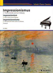 IMPRESSIONISMUS, 21 KLAVIERSTÜCKE RUND UM DEBUSSY (TWELSIEK)