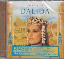 FOREVER DALIDA - BEST OF GREATEST HITS, 20 TRACKS ORIGINAL VERSION CD