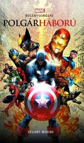 Marvel: Polgárháború - Marvel regénysorozat