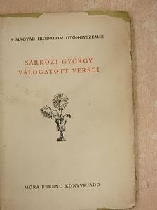 Sárközi György - Sárközi György válogatott versei [antikvár]