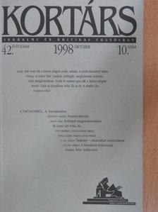Alexa Károly - Kortárs 1998. október [antikvár]