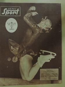 Szűcs László - Képes Sport 1963. március 5. [antikvár]