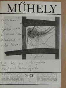 Ágh István - Műhely 2000/4. [antikvár]