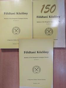 Árkai Péter - Földtani Közlöny 1998/1-4. [antikvár]