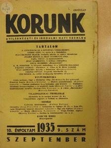 André Gide - Korunk 1935. szeptember [antikvár]