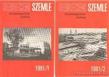 Debreceni szemle 1981/1-2. szám [antikvár]