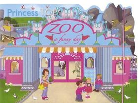 Princess TOP - ZOO: a funny day (blue)