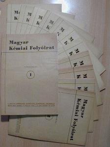 Braun Tibor - Magyar Kémiai Folyóirat 1957. (Nem teljes évfolyam) [antikvár]