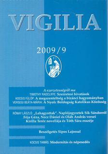 Lukács László - Vigilia 2009/9 [antikvár]