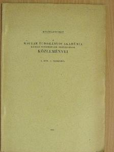 Csűrös Zoltán - Katalizátoros vizsgálatok VIII. [antikvár]