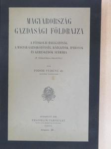 Dr. Fodor Ferenc - Magyarország gazdasági földrajza [antikvár]