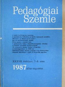 Andorka Rudolf - Pedagógiai szemle 1987. július-augusztus [antikvár]