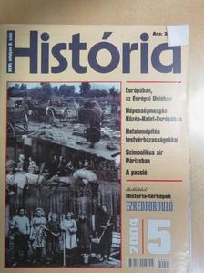 Andrásfalvy Bertalan - História 2004/5. [antikvár]